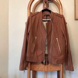 NWT Rag and Bone Leather Moto Lyon Jacket